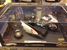 HOTWHEELS  1/12  ELITE 1966 TV SERIES BATCYCLE