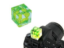 Hot shoe Camera Spirit Level 3 Axis Bubble For DSLR SLR Camera