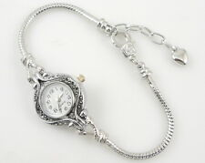 Watch Style Charm Bracelet Fit European Bead 20cm WN3