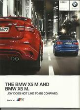 BMW X5 M AND X6 M SALES BROCHURE 2011 2012