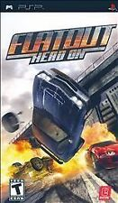 FlatOut Head On UMD PSP COMPLETE SONY PLAYSTATION PORTABLE GAME