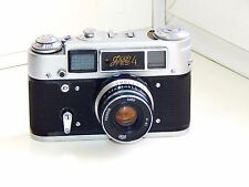 SALE FED-4 Soviet Copy Leica Rangefinder 35mm Camera w/s lens INDUSTAR-61 EXC