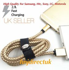 1M 2.1A Heavy Duty Micro USB Data Sync Charging Cable For Samsung Galaxy,Htc,LG