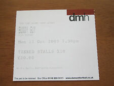 BUDDY GUY - DE MONTFORT HALL LEICESTER 13.10.2003 ENGLAND UK USED CONCERT TICKET