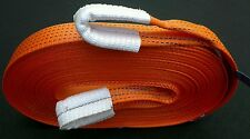 NEW 4x4 RECOVERY WARN WINCH TOWING/TOW STRAP/STROP EXTENSION 20M OFF ROAD/5 TON