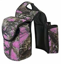 True Timber Camouflage & PINK Western Saddle Horn Bags! NEW HORSE TACK!!!