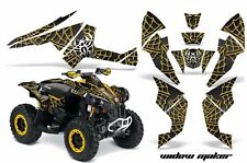 AMR Racing CanAm Renegade500/800/1000 Graphic Kit Wrap Quad Decal ATV All WIDW Y