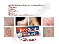 4x Ring Guard Cream-ringworm,Jock Itch,Athlete foot,Eczema,skin infections-20g