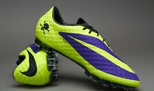 NIKE HYPERVENOM PHANTOM FG (Purple/Black/Volt) 3 PAIRS 6.5-7-8.5 US HURRY!!!