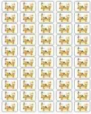 "50 Baby Jesus in Crib / Manger Envelope Seals / Labels / Stickers, 1"" by 1.5"""