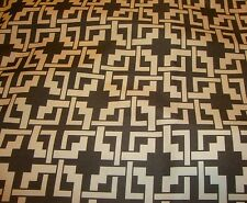 """Upholstery Waterproof Outdoor Canvas Brown and Khaki Digital Print fabric 60"""""""