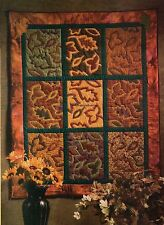 Fall Leaves Quilt Pattern Pieced/Applique JM