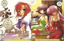 DVD Higurashi When They Cry The Complete Series PLUS OVA And Spin Off (Eng SUB )