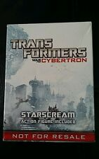 HASBRO  TRANSFORMERS WAR FOR CYBERTRON STARSCREAM PROMO FIGURE FOR PS4 XBOX.