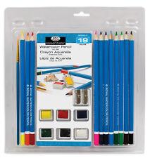 Watercolor Pencils Set 19 pc RART-2001