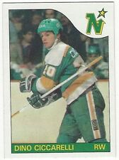 1985-86 TOPPS HOCKEY #13 DINO CICCARELLI - NEAR MINT-