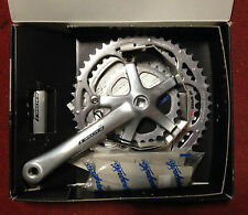 Guarnitura Campagnolo Racing Triple bike crankset 175 9 s v made in Italy