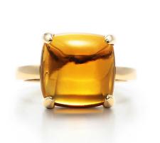 Tiffany Paloma's Sugar Stacks Citrine Ring in 18K Gold