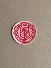 MANCHESTER UNITED FC EMBLEM SEW ON PATCH RETRO LOGO ENGLAND EPL UK RED DEVILS
