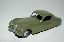 DINKY TOYS 157 JAGUAR XK120 XK 120 GREEN REPAINT EXCELLENT CONDITION