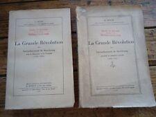 LORRAINE LA GRANDE REVOLUTION ARRONDISSEMENT SARREBOURG 2 VOL. 1936 L. BOUR RARE