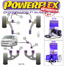 Powerflex VW Transporter T5 Adjustable Front Bush Kit PFF85-1301G/1302G