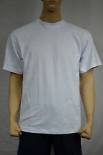 3 NEW SHAKA WEAR SUPER MAX HEAVY WEIGHT T-SHIRTS WARM WHITE TEE PLAIN XLT TALL