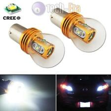 2pcs High Power White 5-CREE 1156 P21W BA15 LED Bulbs Car Backup Reverse Lights