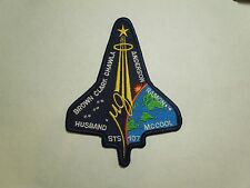 NASA Space Shuttle Mission STS-107 Astronauts Columbia Embroidered Iron On Patch