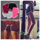 Women Girls Hot Pants Running Shorts Gym Beach Sports Yoga Shorts UK 6 8 10 12