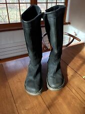 Dr Martens Black Leather Boots Knee High Women's size 9/USA, 7/UK, 41/EU