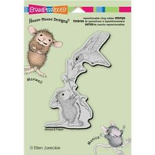 Stampendous House Mouse Cling Rubber Stamp - 310064