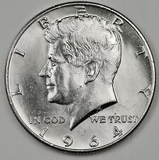 1964-D/D Kennedy Half.  Dramatic Bold D/D, No Set complete without 1.B.U.  99017