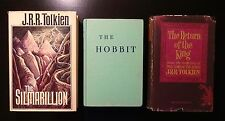 1977 THE SILMARILLION 1st Printing plus Hobbit (1966) and Return King (1965)