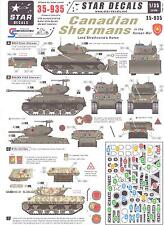 Star Decals 1/35 CANADIAN SHERMAN TANKS IN THE KOREAN WAR
