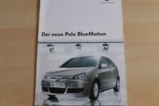 73799) VW Polo 9N BlueMotion Prospekt 05/2006
