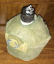 WWII U.S. ARMY Complete Set Canteen, Cover, & Cup  Alltex 1945 Original