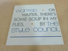 PAUL WELLER - THE STYLE COUNCIL -  WANTED !!!CARDBOARD!! RARE CD
