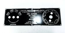 Lincoln SA-200 Short Hood  FACEPLATE BW685