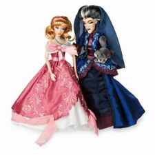 NEW DISNEY STORE LIMITED EDITION CINDERELLA AND LADY TREMAINE FAIRYTALE DOLL SET