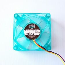Cooler Master 70mm 7cm PC Computer AMD CPU Cooling Fan 3 Pin Seafoam Blue F43