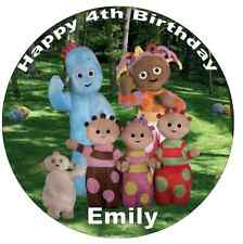 """In The Night Garden Personalised Cake Topper 7.5"""" Edible Wafer Paper"""
