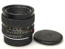 Leica Leitz SUMMILUX-R 50mm 1:1 .4 e55 Lens GERMANY