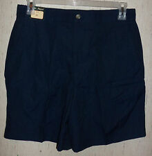 NWT MENS A.M. PLAYER NAVY BLUE GOLF SHORTS  SIZE 34