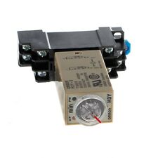 H3Y-2 220V AC Power On Time Delay Relay Solid State Timer 1.0~30 Min Socket Base