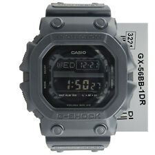 New Casio G-Shock GX-56BB-1 Flash Alert Digital EL Resin Watch