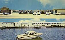 ATLANTIC BEACH NC Bel Air Motel Views nr Morehead City NC postcard