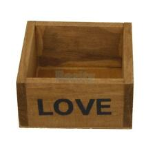 Wood Planter Box Gardening Outdoor Flower Succulent Bed Container Plant Pot