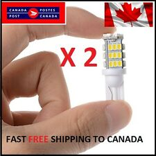 2 X T10/921/194 Car LED COOL White 42SMD Bulbs W5W RV Trailer Backup Reverse