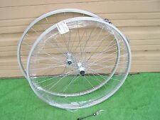 "27 "" ALLOY BIKE  QUICK RELEASE  WHEEL SET FRONT & 5/7 SPEED   REAR 36 SPOKES"